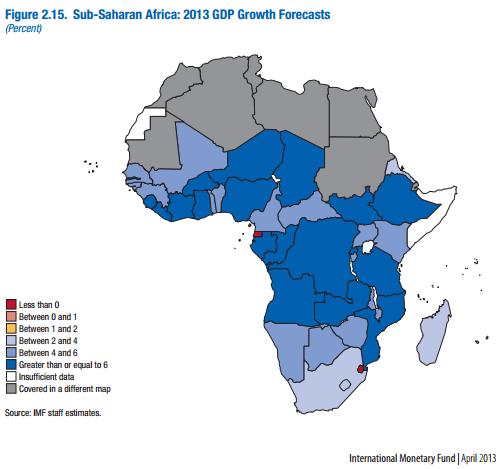 IMF map