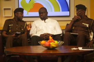 On Viasat1 as Ghana Prisons Council Member discussing what to do if a relative or friend has been kept in prison remand for far too long!
